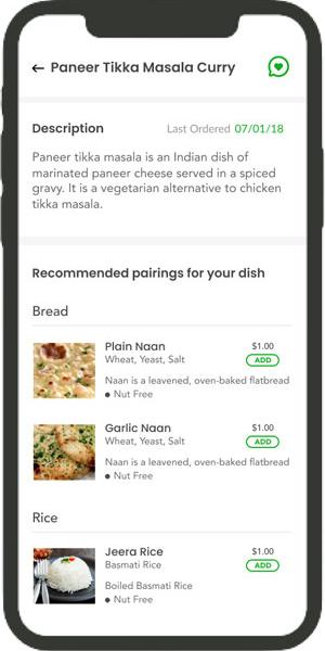 AI Based Food Recommendations